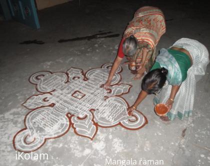 Rangoli: 4th april