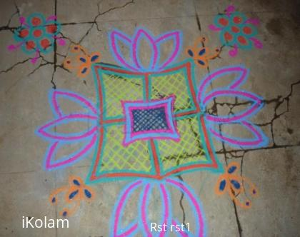 Rangoli: Net Design