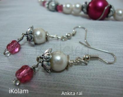 Rangoli: Earrings