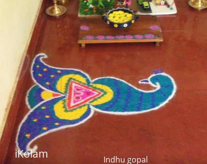 Rangoli: Navrathri rangoli4