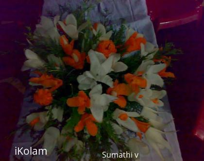 Rangoli: Veggie carving
