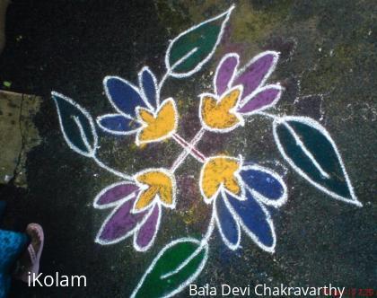 Rangoli: Kutties Kolam