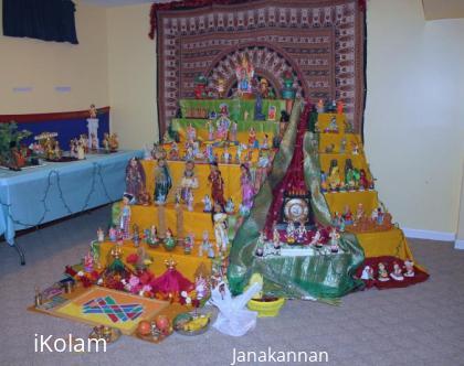 Rangoli: Navaratri Golu Competition 2010