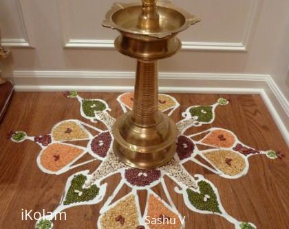 Rangoli: Going Green