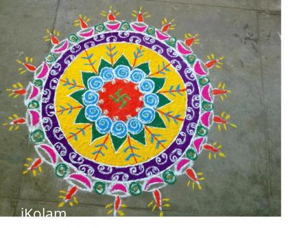 Rangoli: Rangoli for diwali competition 2010