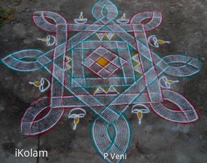 Rangoli: Kuzhal Kolam
