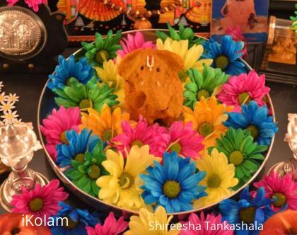 Rangoli: Ganesha!