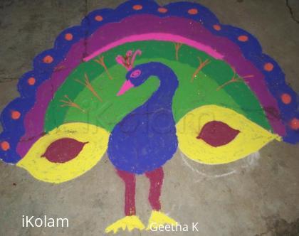 Rangoli: New year Jan 2011 Rangoli