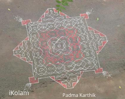 Rangoli: Saturday kolam