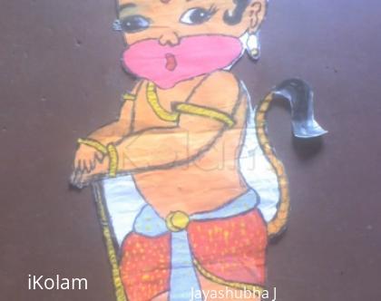 Rangoli: Painting