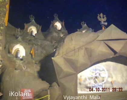 Rangoli: DURGA PUJO CELEBRATION AT KOLKATA