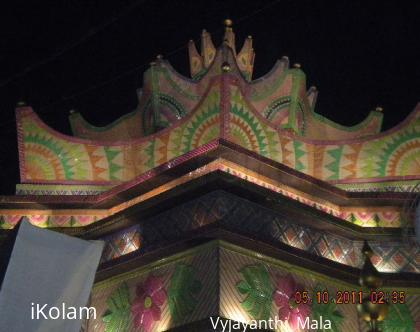 Rangoli: DURGA PUJO CELERBRATION - KOLKATA DOES NOT SLEEP FOR ALL THE 4 DAYS.