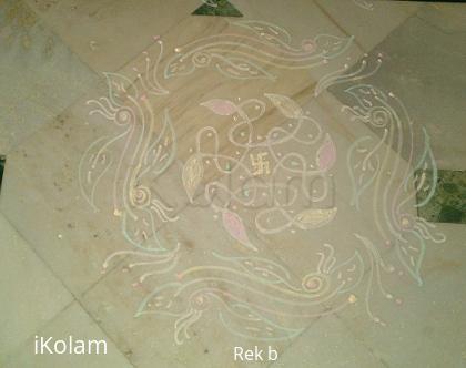Rangoli: chukka kolam