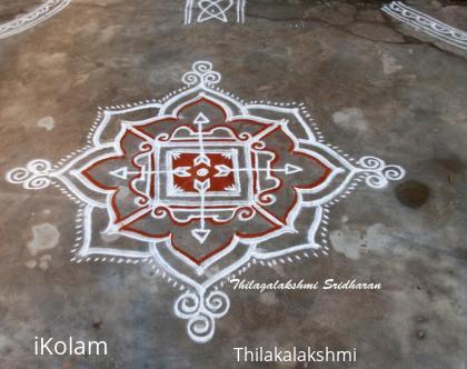 Rangoli: Sri Ramanavami Kolam