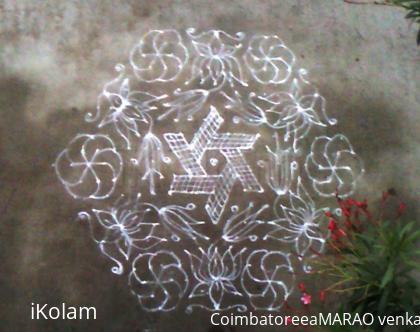 Rangoli: Margazhi Kolam 06.01.2013