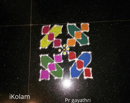 Rangoli: Margazhi Kolam # 5
