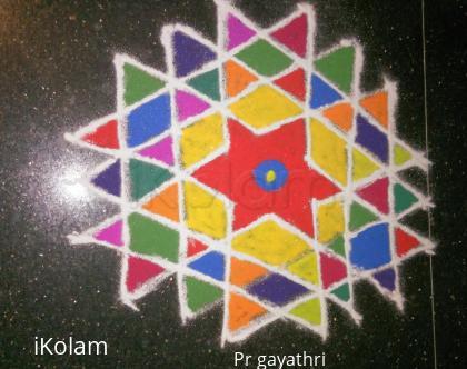 Rangoli: Aishwarya Kolam