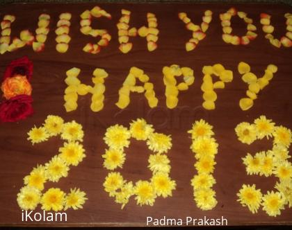 Rangoli: New Year Kolam