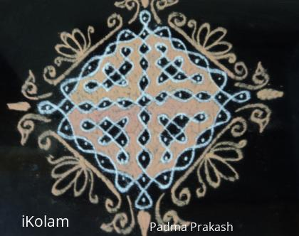 Rangoli: Sikku Kolam 11-1 series-3