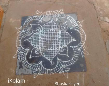 Rangoli: Fusion PADI kolam