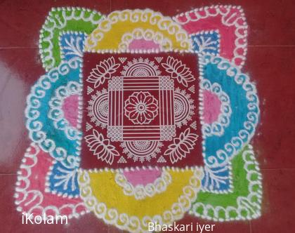 Rangoli: Diwali Rangoli 1