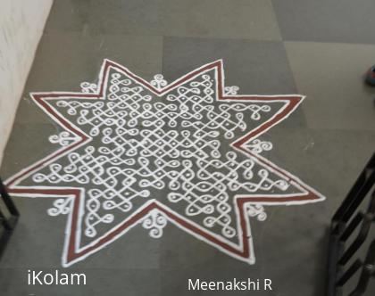 Rangoli: One of my Navarathri kolams