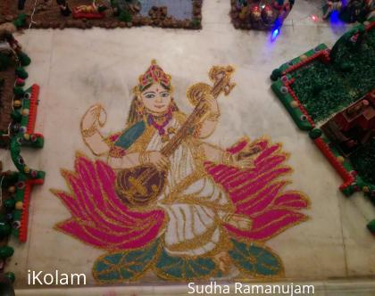 Rangoli: Goddess of Arts