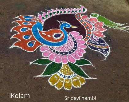 Rangoli: My bogi rangoli