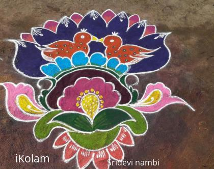 Rangoli: Today rangoli for pongal fest