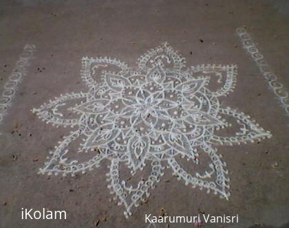 Rangoli: Blossoms