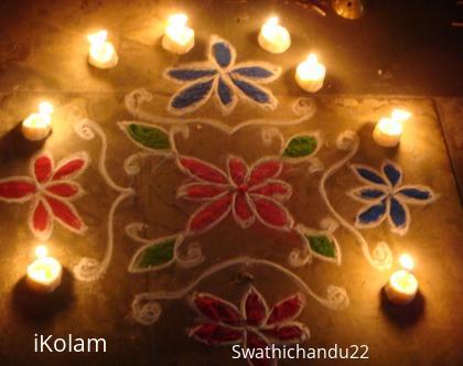 Rangoli: Karthika Pournami
