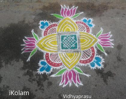 Rangoli: Margazhi Morning