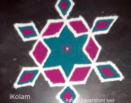 Rangoli: Simple Kolam