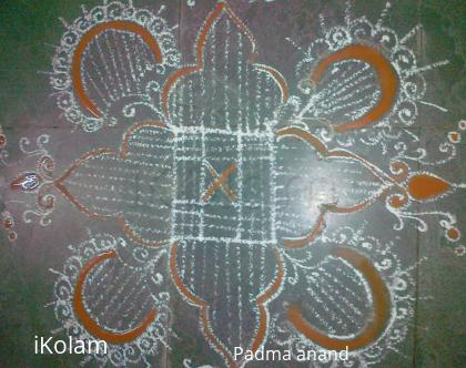 Rangoli: morning kolam