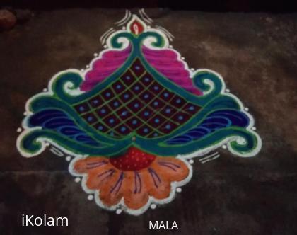 Rangoli: Mala_kolam