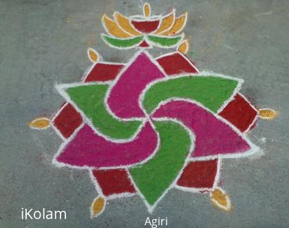 Rangoli: Color Kolam by Amudha Giri