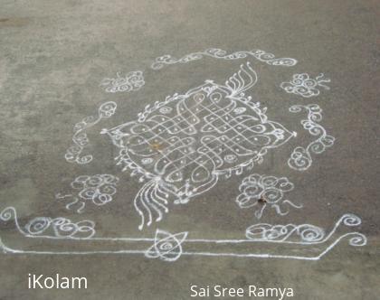 Rangoli: Mangala gouri Vratham