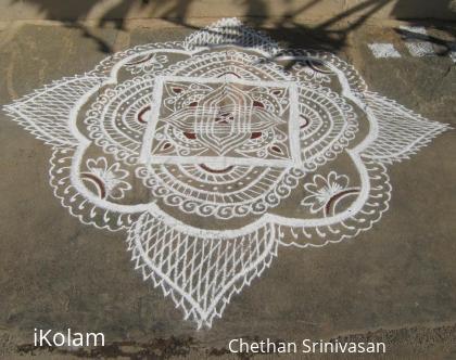 Rangoli: New Year - 2013