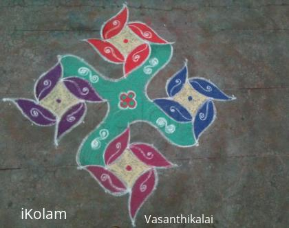 Rangoli: Marhazhi28th day kolam