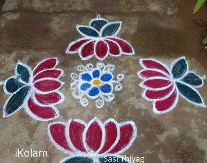 Rangoli: New flowers