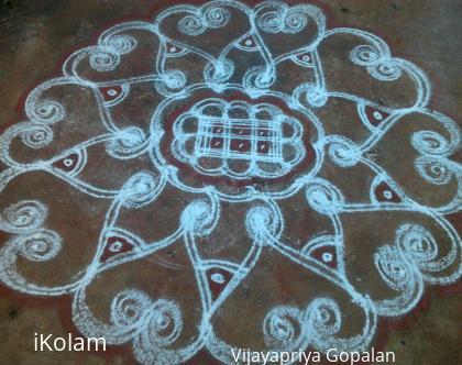 Rangoli: Thai Velli kolam