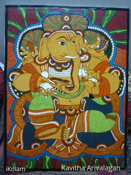 mural ganesha -