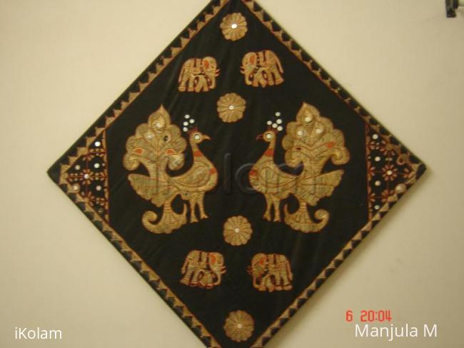 Rangoli: Embroidary