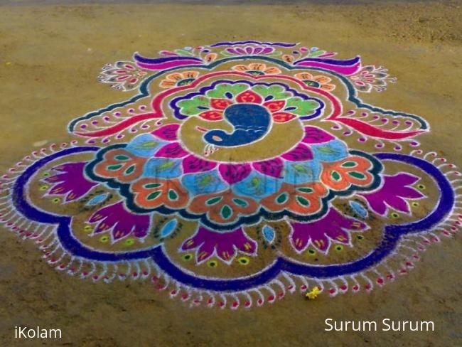 Rangoli: diwali rangoli contest 2009