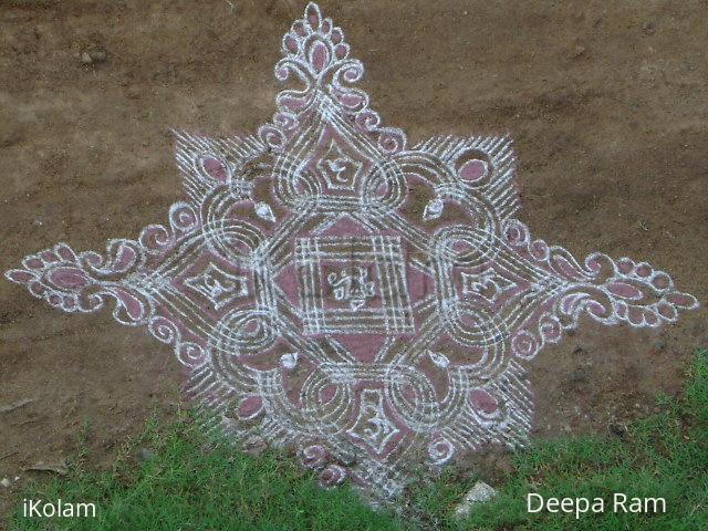 Rangoli: 'sarva karyeshu sarvatha'