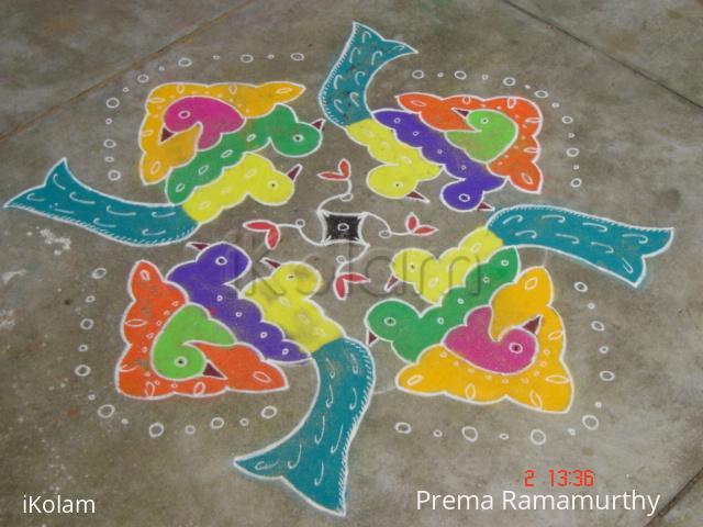 Rangoli: Margazhi Dew Drops Rangoli Contest - 2010