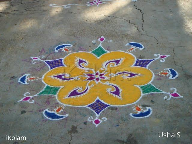 Rangoli: Deepavali Rangoli 3