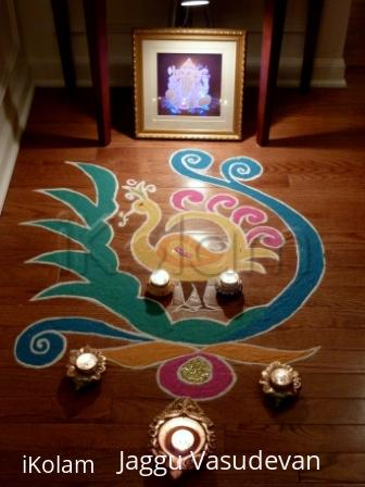 Rangoli: Happy Diwali with Light and Color