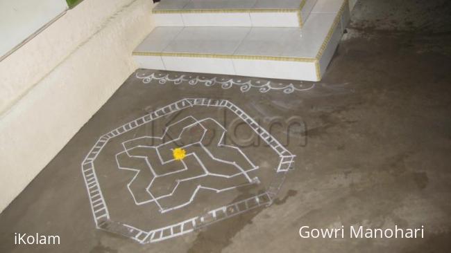 Rangoli: Chalk kolams