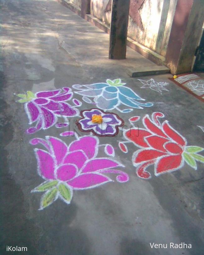Rangoli: February Month kolam